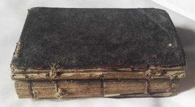 vzácná kniha roku 1796 / Žaltář / Brno
