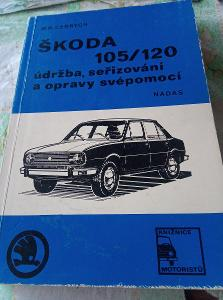 Škoda 105 /120 údržba seřizování a opravy. Cedrych. 1977