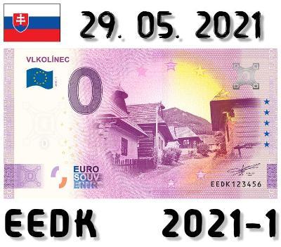 0 Euro Souvenir | VLKOLÍNEC | EEDK | 2021