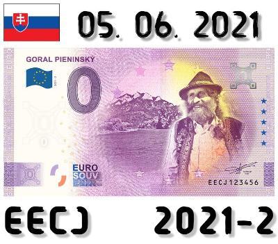 0 Euro Souvenir | GORAL PIENINSKÝ | EECJ | 2021