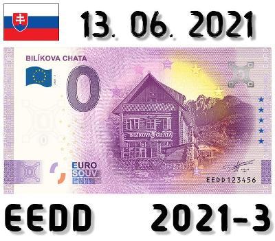 0 Euro Souvenir | BILÍKOVA CHATA | EEDD | 2021