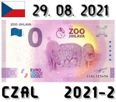 0 Euro Souvenir   ZOO JIHLAVA   CZAT   2021