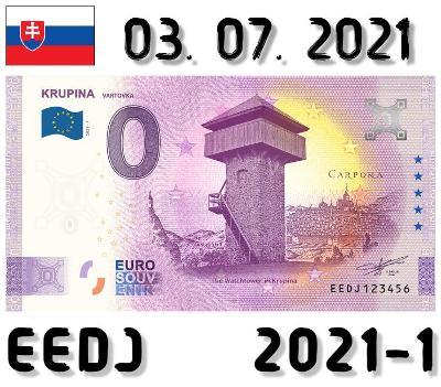 0 Euro Souvenir | KRUPINA Vartovka | EEDJ | 2021