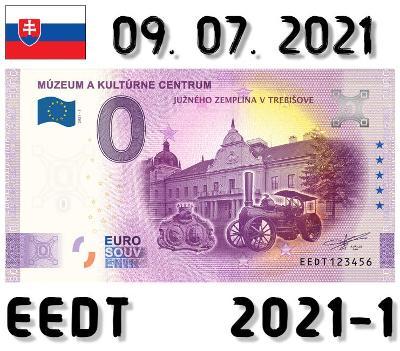 0 Euro Souvenir | MÚZEUM A KULTÚRNE CENTRUM | EEDT | 2021