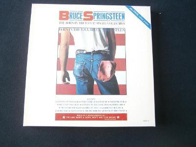 LP Bruce Springteen - Born in THE USA Maxisingly  - BOX set ULTRA RARE