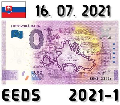 0 Euro Souvenir | LIPTOVSKÁ MARA | EEDS | 2021