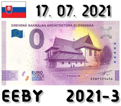0 Euro Souvenir |DREVENÁ SAKRÁLNA ARCHITEKTÚRA Kežmarok | EEBY |2021