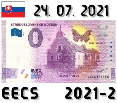 0 Euro Souvenir | STREDOSLOVENSKÉ MÚZEUM Tihányiovsk kaš | EECS | 2021