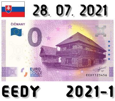 0 Euro Souvenir | ČIČMANY | EEDY | 2021