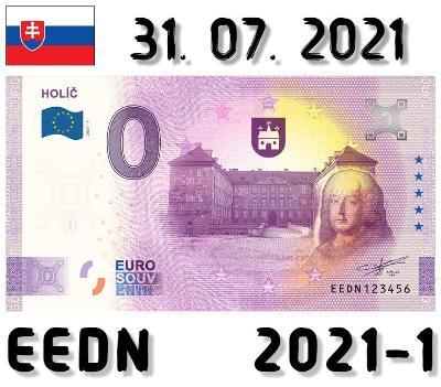 0 Euro Souvenir | HOLÍČ | EEDN | 2021