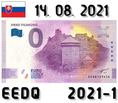 0 Euro Souvenir | HRAD FIĽAKOVO | EEDQ | 2021