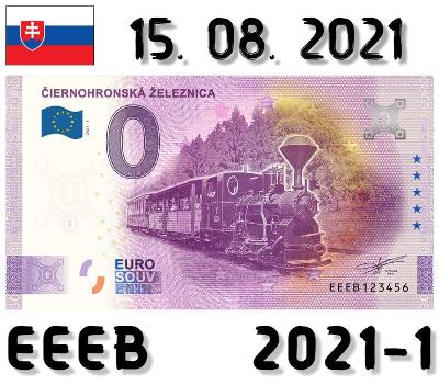 0 Euro Souvenir | ČIERNOHRONSKÁ ŽELEZNICA | EEEB | 2021