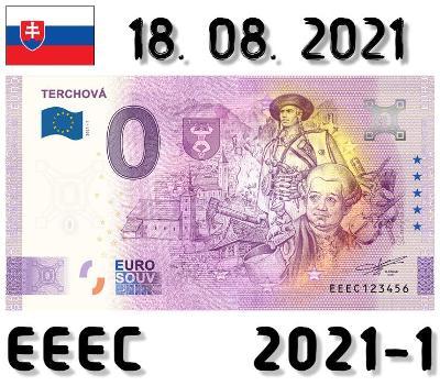 0 Euro Souvenir | TERCHOVÁ | EEEC | 2021