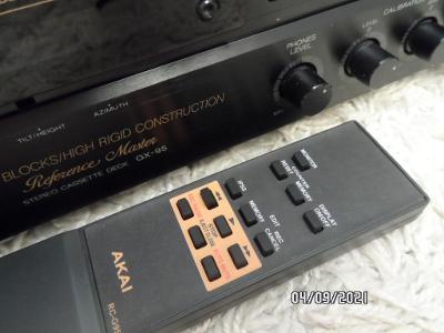 Kazetovy magnetofon  AKAI GX-95 + DO