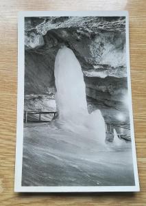 Pohled  Dobšinská ledová jeskyně - Studně
