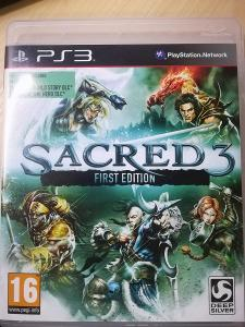 PS3 Sacred 3 first edition pro SONY Playstation 3