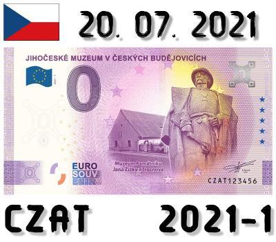 0 Euro Souvenir | JIHOČESKÉ MUZEUM | CZAT | 2021
