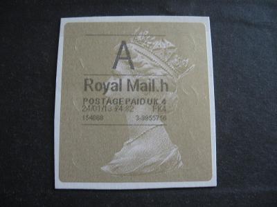 ANGLIE - na doplnění, od 1 Kč (výstřižek 6 x 6,5 cm, Alžběta)