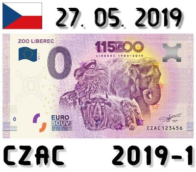 0 Euro Souvenir | ZOO LIBEREC | CZAC | 2019