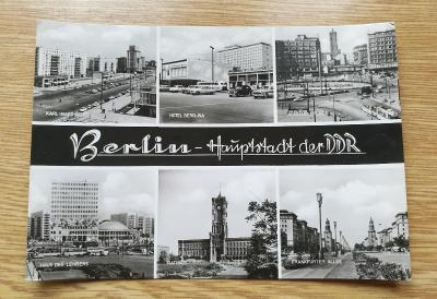 Pohled  Berlín DDR