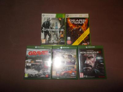 GRAVEL, THE CREW,METAL GEAR SOLID V,GEARS OF WAR,CRYSIS 2
