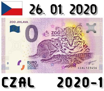 0 Euro Souvenir | ZOO JIHLAVA | CZAL | 2020