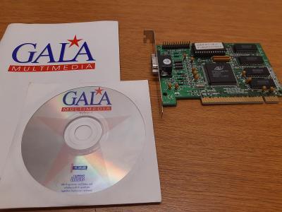 RETRO HW - Grafická karta Avance Gala Vision 64 (Avance Logic ALG2564)