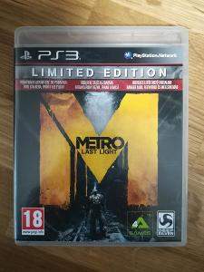 PS3 METRO LAST LIGHT - LIMITED EDITION CZ - SONY Playstation 3