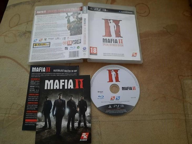 MAFIA 2 SPECIAL EXTENDED EDITION - PS3 - PLAYSTATION 3 - Hry