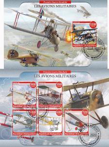 Válečná technika - 2 x letadla A