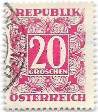 Známka Rakouska od koruny - strana 3 - Filatelie