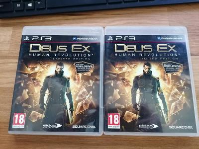 PS3 DEUS EX HUMAN REVOLUTION LIMITED EDITION - SONY Playstation 3