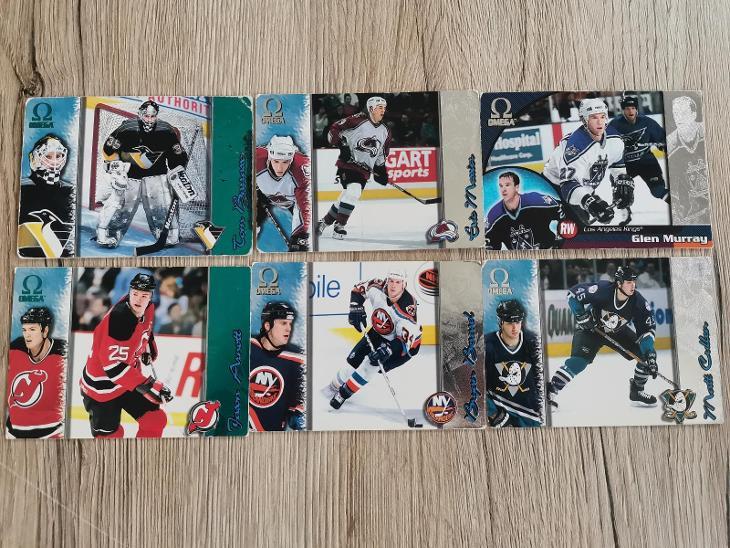 Hokejové karty Omega - Sportovní sbírky