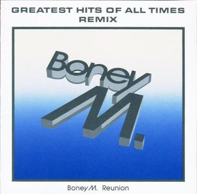BONEY M. REUNION-GREATEST HITS OF ALL TIMES REMIX CD ALBUM