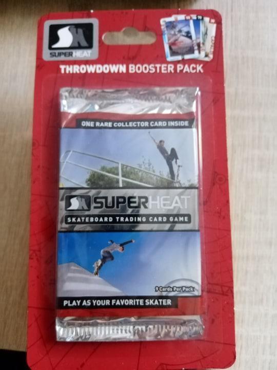 Zberateľský Blister Balíček 2011 SuperHeat Throwdown SKATEBOARD  - Sportovní sbírky