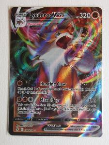 Pokémon karta - Lycanroc VMAX (JP+EN)