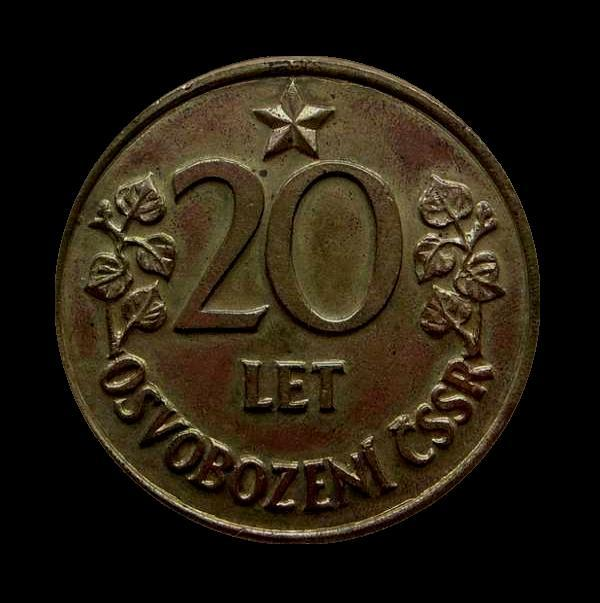 ČSR -Medaile-s Hvězdou BUDOVATEL SOCIALISMU 60mm bronz, těžká ,Plaketa - Faleristika