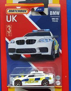 BMW M5 Police UK MB 3/12 Matchbox