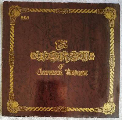 LP JEFFERSON AIRPLANE - THE WORST OF (1971) GER. Press EX++ TOP STAV!
