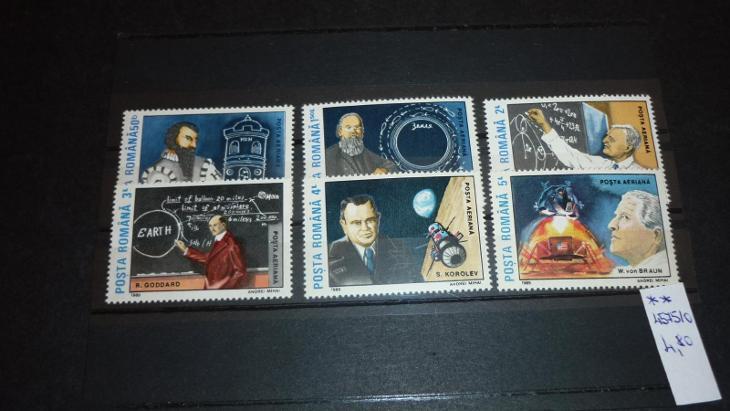 Rumunsko - kosmos - Filatelie