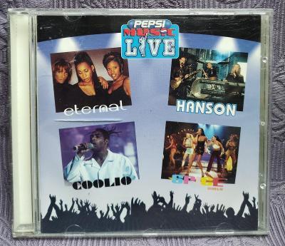 CD -  Eternal/Hanson/Coolio/Spice Girls ( 1997 ) CD V PĚKNÉM STAVU