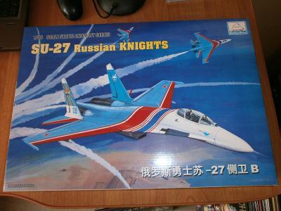 SU-27 Russian Knights /MiniHobby Models/
