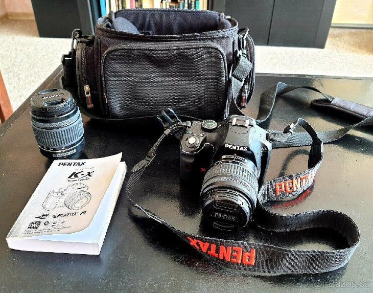 Fotoaparát Pentax K-x + 2 objektivy (18-55mm, 50-200mm) - Foto