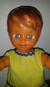 stará gumová panenka LENKA * GUMOTEX *28cm