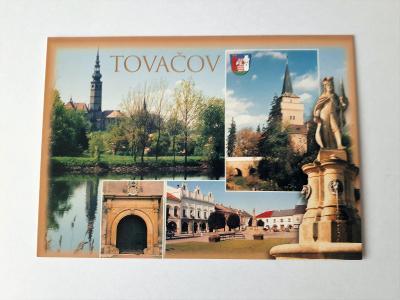 prodám pohledníci-město Tovačov