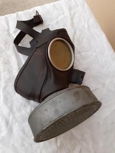 WW2 - Plynová Maska Luftschutz !!!