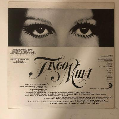 Milva – Tango - LP vinyl