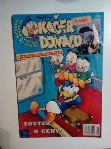 Časopis, Kačer Donald, č. 15/1999, pěkný stav