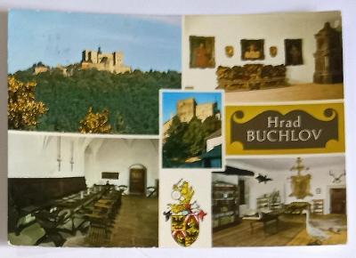 Pohlednice hrad Buchlov