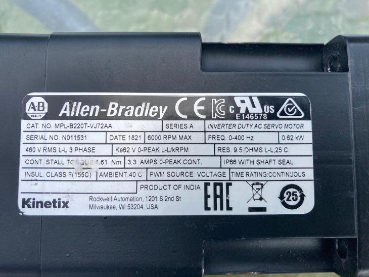 servo motor Allen-Bradley - Průmysl